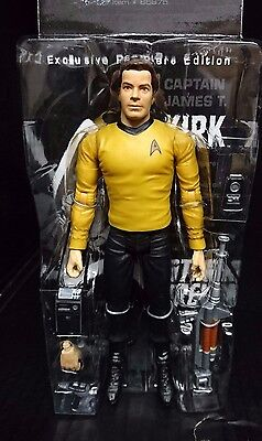 Star Trek Exclusive Premiere Edition CAPTAIN JAMES T KIRK w/Starfleet Gear New!