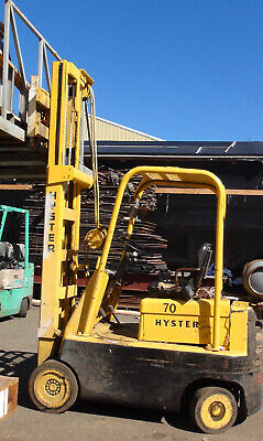Hyster 7000lb Propane Powered Forklift New Lower Price
