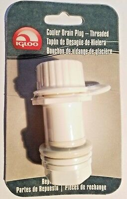 New Genuine IGLOO 24011 Cooler THREADED Drain Plug fits 50-165 Qt.