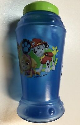 Nickelodeon Paw Patrol Sippy Cup Bottle W/ Straw Handle BPA FREE Chase Marshall