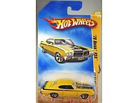 2011 Hot Wheels #11 New Models 11//50 /'70 PONTIAC GTO JUDGE Olive Variant w//5 Sp