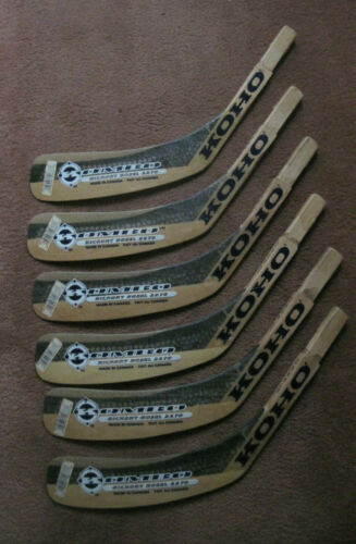 Lot Of 6 Koho Kombo Hockey Stick Blades Junior Left Hand Shooter (New)