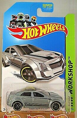 2013 Hot Wheels Kmart Exclusive #152 HW Showroom-CADILLAC CTS-V Gray Variation