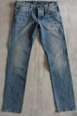 MIC CANE HOMME Slim-Skinny Low Waist Jeans Hose stretch Bio Denim W32/L34 Neu 1 ()