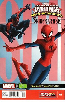 Marvel Universe Ultimate Spider-Man Web Warriors  Spider-Verse  1, 3, 4 (Ultimate Spider Man Web Warriors Spider Verse)