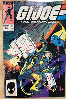 G.I. JOE #65 (1987) Marvel Comics VG+