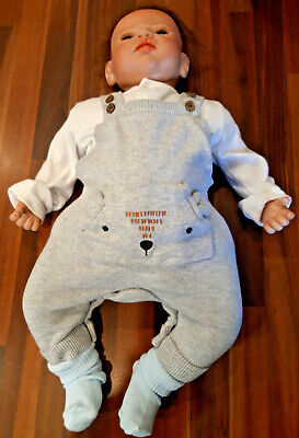 LIFE LIKE BABY DOLL REBORN BOY VGC! + Clothes *FREE POSTAGE* RE BORN