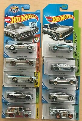 Lot of 10 Hot Wheels ZAMAC Cars & Trucks                 [2014-2019]
