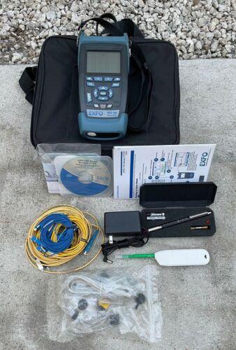 """EXFO AXS-100 Access SM Fiber OTDR AXS-100-023B-EI-PM2X-VFL AXS 100 """"Great Shape"""""""