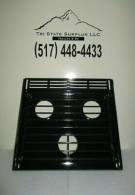 Atwood Rv Cooktop Stove - Atwood Wedgewood 3 Burner RV Stove Cook Top 52015 Grate Black 56272 Range 53217