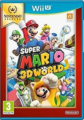 Super Mario 3D World (Selects) (Wii-U) - New and Sealed