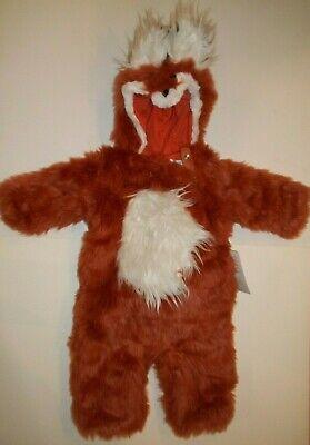 Kids Fox Halloween Costume (POTTERY BARN KIDS WOODLAND BABY FOX HALLOWEEN COSTUME 0 - 6 MONTHS)