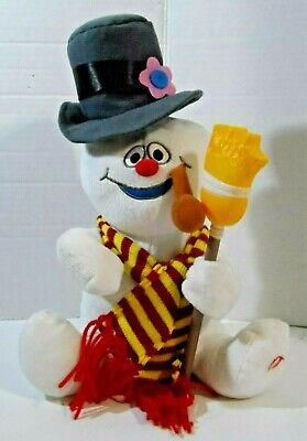 "Gemmy Animated Singing Wigglin' Frosty the Snowman 12"" Plush"