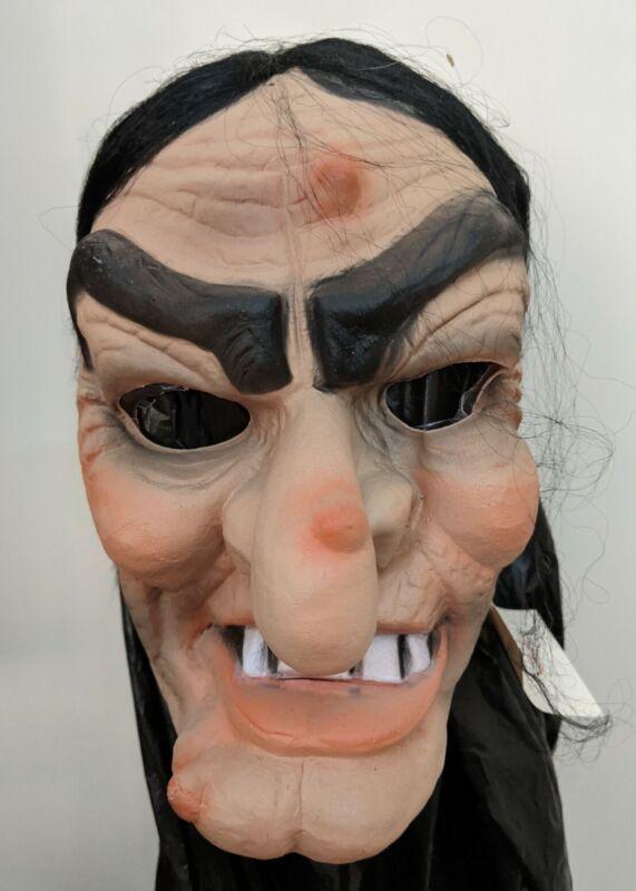 Cesar Witch Black hair Mask Halloween Distortions BSS Pumpkin Don Post Myers