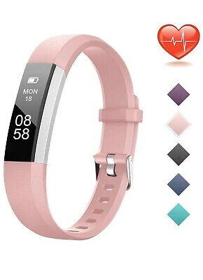 Lintelek Fitness Tracker, Customized Activity Tracker with Heart Rate Monitor,