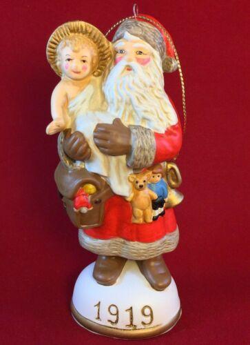 1919 Santa & the Christ Child Memories of Santa Collection Ornament Christmas