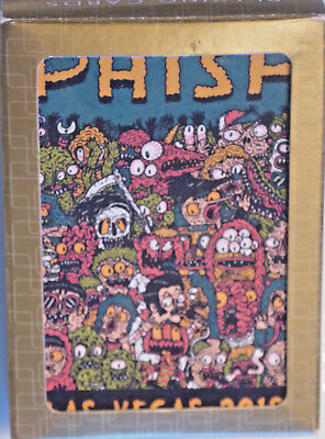 PHISH MGM Halloween 2018 Las Vegas Playing Cards Hex Aunzo L/E Sold out Pollock