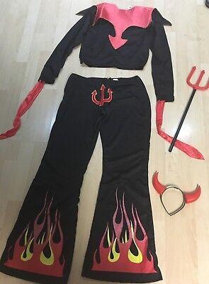 Sexy Teufel Kostüm in Gr. M ca. 38/40 - Gabel Kostüme