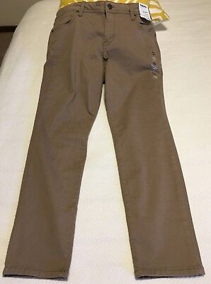 Sonoma Skinny Mid Rise Slim Hip and Thighs Coffee Delight Tan Women