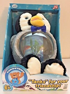 As Seen On TV Teddy Tank Tanks For Your Friendship Charming Penguin 6 Ages +