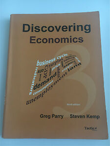 Year 11 - Economics Text Book Claremont Nedlands Area Preview