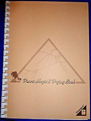 Stamp Drying Book  Desert Magic II By Showgard  8.5 x 11