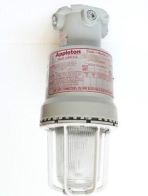 Appleton Code Master Jr Industrial Light Fixture Cjb150l-mt With Cac75 Cjgu15