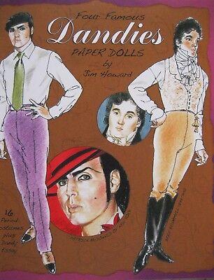 FOUR FAMOUS DANDIES: Duke of Windsor/Oscar Wilde/Beau Brummell/Patrick McDonald