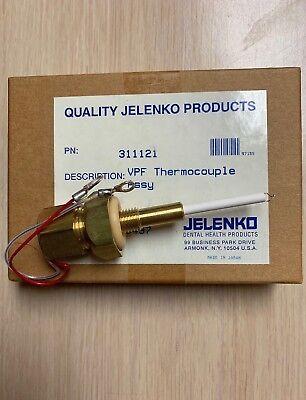 New Jelenko Vpf Thermocouple Assy Pn 311121