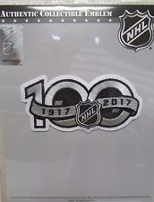 NATIONAL HOCKEY LEAGUE NHL 100th ANNIVERSARY CENTENNIAL HOCKEY JERSEY PATCH