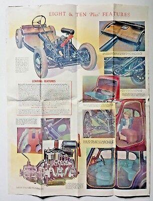 Austin Motor Company Circa ?1946 Brochure/Broadside AUSTIN EIGHT &  AUSTIN TEN