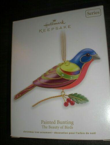 2012 HALLMARK - PAINTED BUNTING - #8 IN THE BEAUTY OF BIRDS SERIES - NIB!