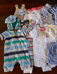 Baby Boys Size 00 Summer Bulk Bundle 24 items Bonds Sprout