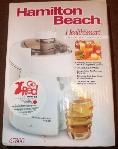 Hamilton Beach HealthSmart Juice Extractor White 67800