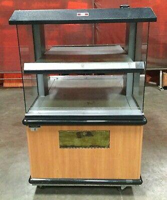 Custom Deli Equipment Food Warming Display Case Merchandizer 52l X 36w X 60h