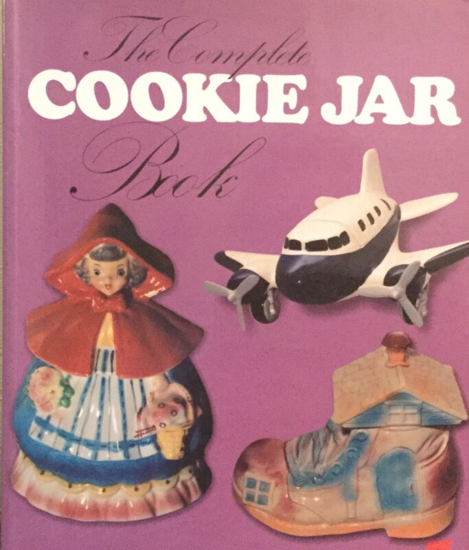 The Complete Cookie Jar Book Reference Price Guide Schiffer 2005 Collectible