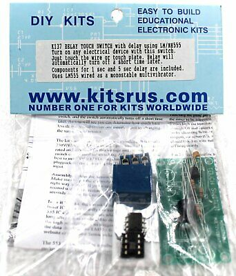 Touch Switch  Timer Kit - Requires Assembly