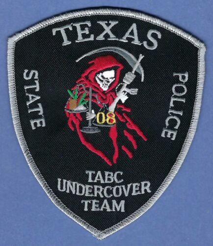 TEXAS STATE ALCOHOLIC BEVERAGE COMMISSION POLICE UNDERCOVER TEAM PATCH
