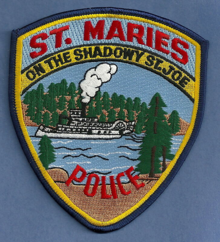 ST. MARIES IDAHO POLICE SHOULDER PATCH RIVER STEAMBOAT!