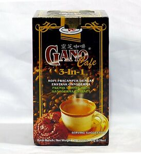 7 Boxes Gano Cafe 3 In 1 Coffee Gano Excel Ganoderma + Free Expedited Shipping