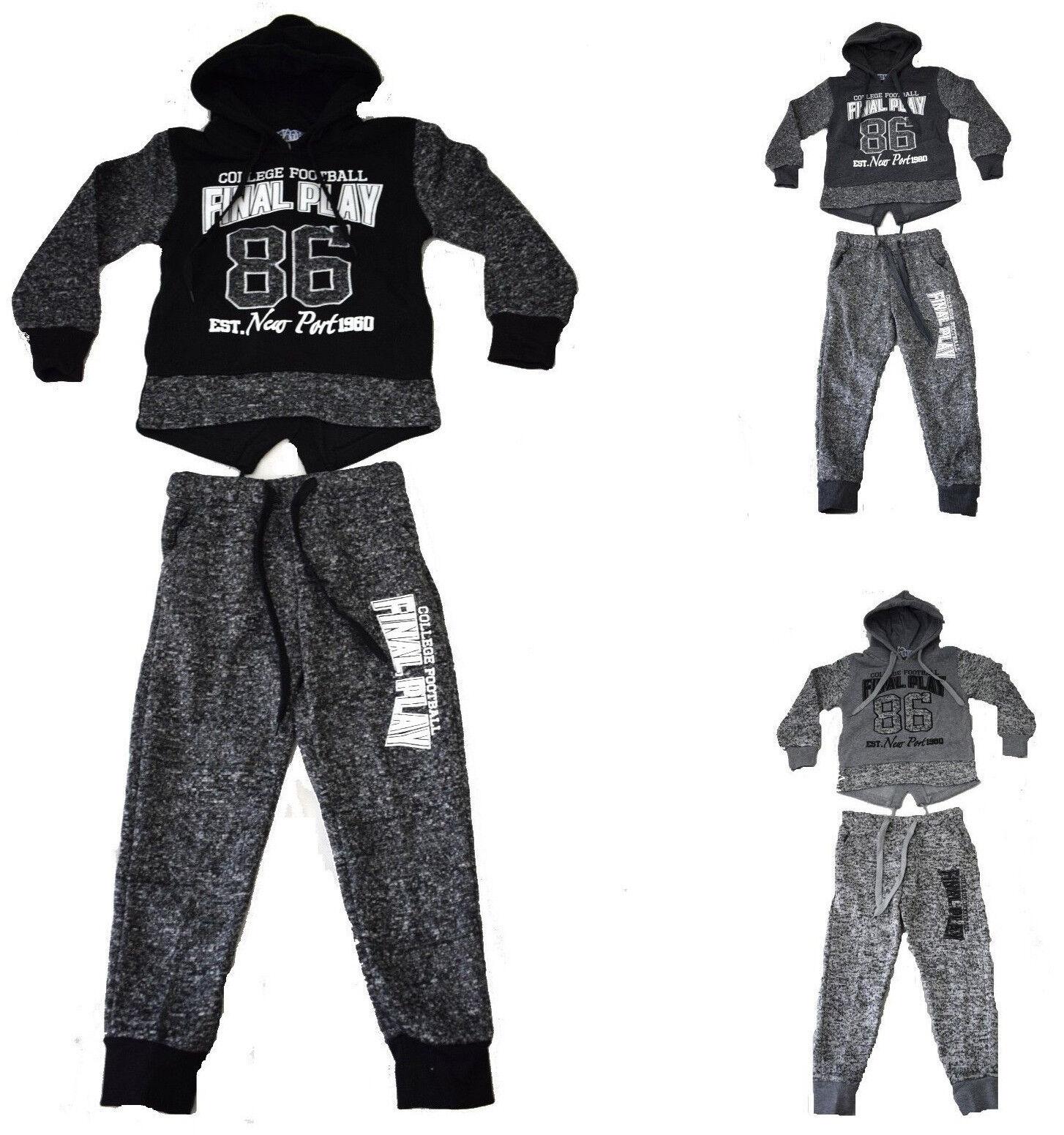 Kinder Jogginganzug Neu Jungen Sportanzug Kinder Pullover + Jogginghose *SUPER*