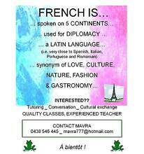 FRENCH CLASSES FOR ALL!! Claremont Nedlands Area Preview
