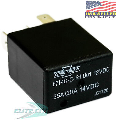 Song Chuan 12vdc Micro Spdt 2030a Relay Replace Acv11212 Cm1c-r-12v