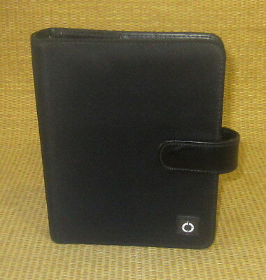 Compact 1 Rings Black Durable Sport Franklin Covey Open Plannerbinder