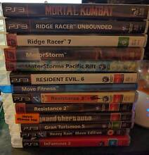 PS3 Collection 14 Games Playstation Lot Glynde Norwood Area Preview