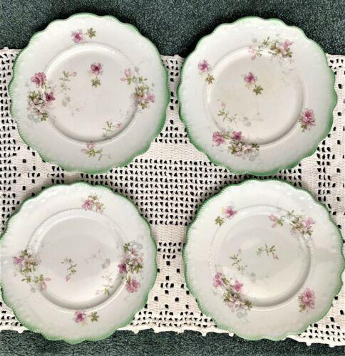 Antique Grindley Dessert Plates (4) Tivoli Pattern
