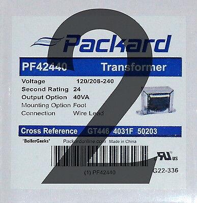 Lot Of 2 24 Volt Hvac Transformers 120v208v240v Inputs 24vac-40va Output