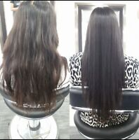 Japanese hair straightening keratin treatment