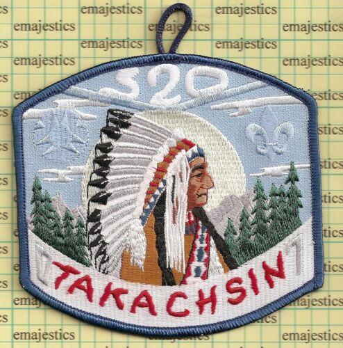 BSA OA LODGE 520 EL KU TA  2007 TAKACHSIN JLT EVENT MINT PATCH