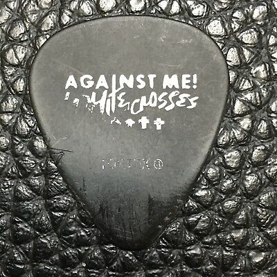 GUITAR PICK - AGAINST ME! - REAL TOUR PICK - STAGE USED!